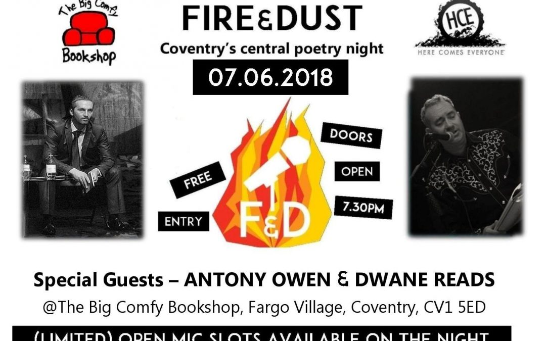 Fire & Dust: Antony Owen and Dwane Reads