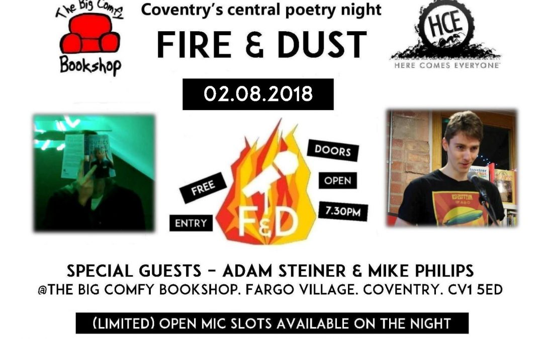 Fire & Dust: Adam Steiner and Mike Philips