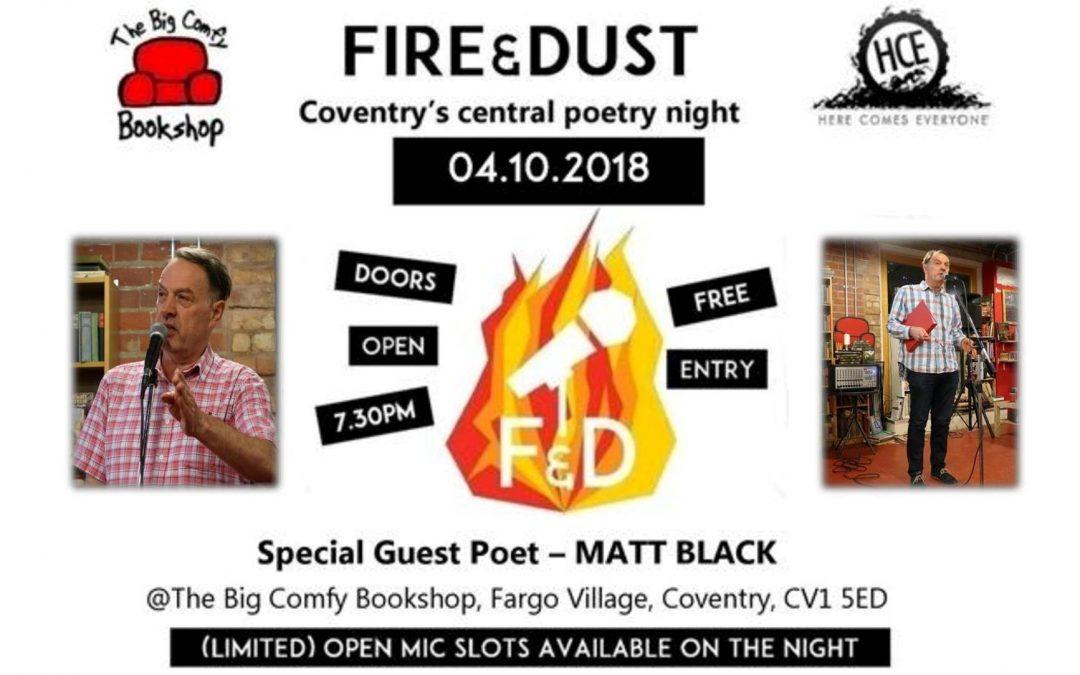 Fire & Dust: Matt Black