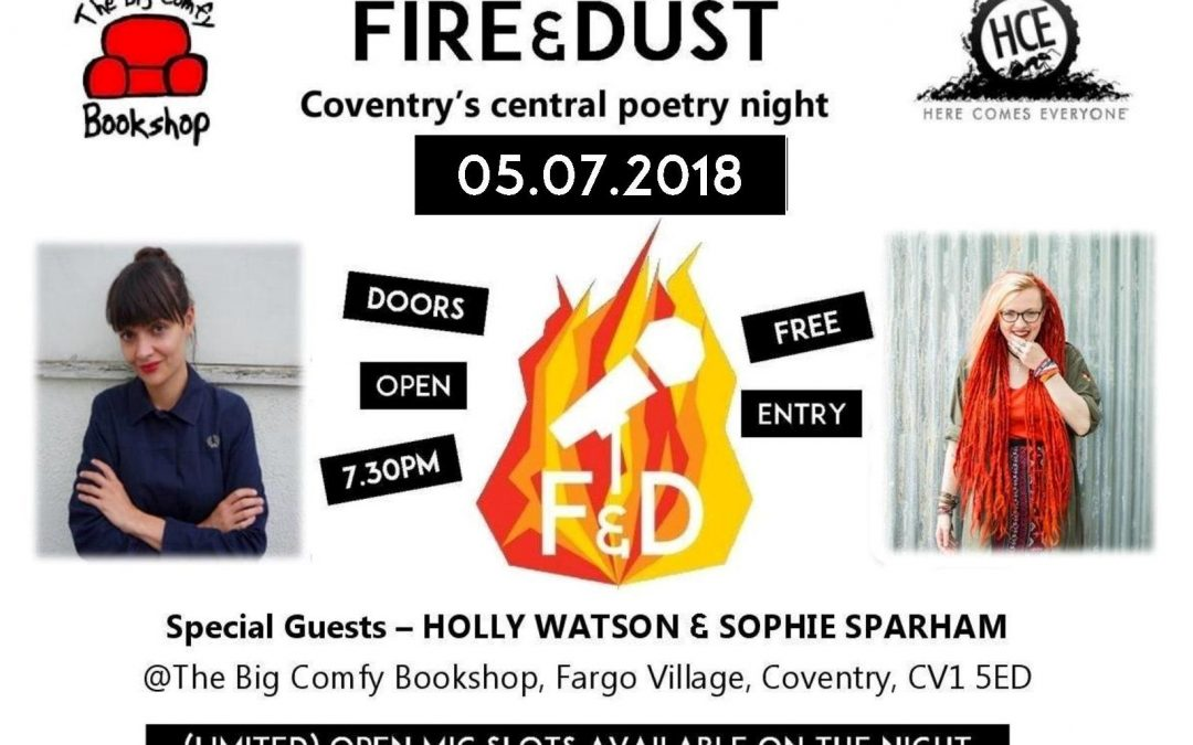 Fire & Dust: Sophie Sparham and Holly Watson