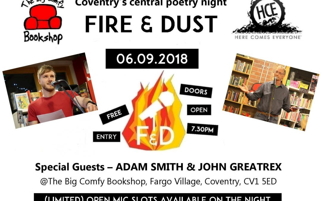 Fire & Dust: Adam Smith and John Greatrex