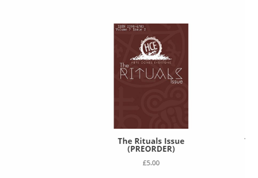 Three Benefits of Pre-ordering The Rituals Issue
