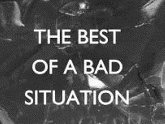 REVIEW: JAMIE THRASIVOULOU'S 'THE BEST OF A BAD SITUATION'